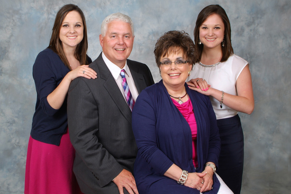Pastor Jeff Keffer and Family