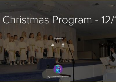 Kids Christmas Program – 2016